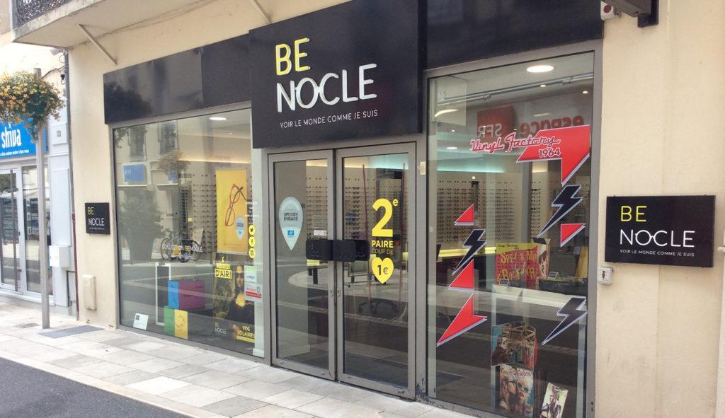 Photo devanture magasin Langon